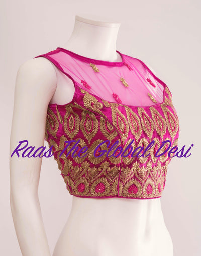 BL1310-BLOUSE-Raas The Global Desi-[readymade_saree_blouse_online_usa]-[readymade_saree_blouse]-[saree_blouse_online]-Raas The Global Desi