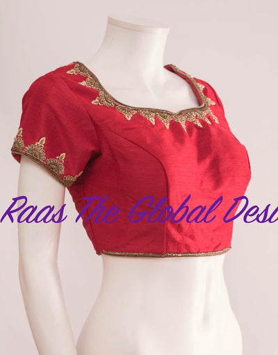 BL1278-BLOUSE-Raas The Global Desi-[readymade_saree_blouse_online_usa]-[readymade_saree_blouse]-[saree_blouse_online]-Raas The Global Desi