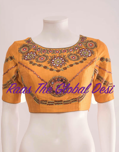 BL1283-BLOUSE-Raas The Global Desi-[readymade_saree_blouse_online_usa]-[readymade_saree_blouse]-[saree_blouse_online]-Raas The Global Desi