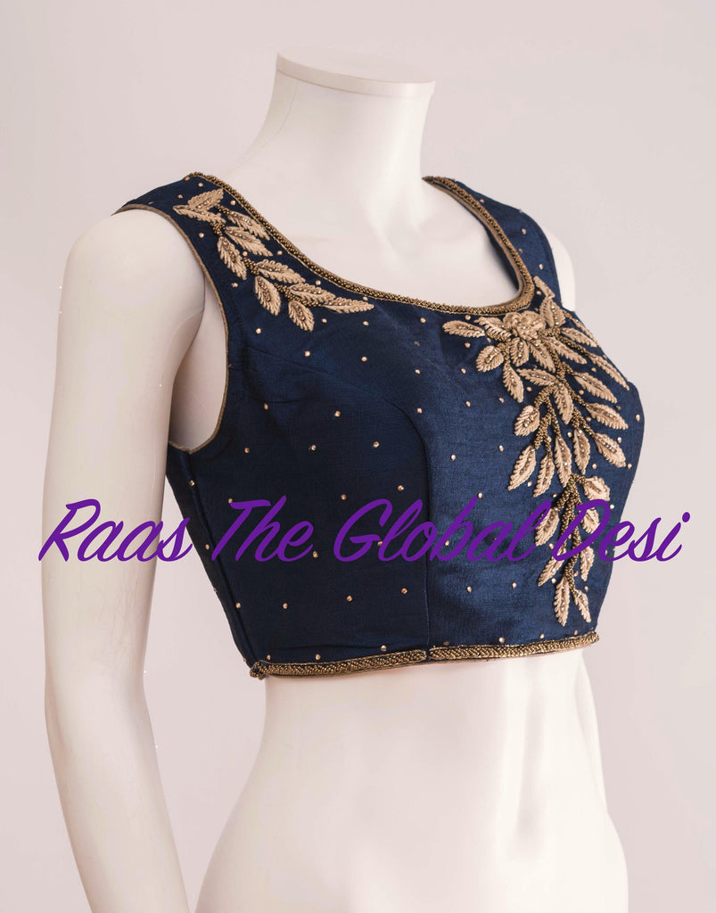 BL1288-BLOUSE-Raas The Global Desi-[readymade_saree_blouse_online_usa]-[readymade_saree_blouse]-[saree_blouse_online]-Raas The Global Desi