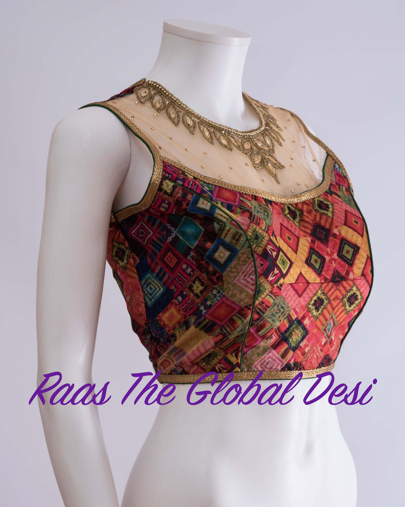 BL1221-BLOUSE-Raas The Global Desi-[readymade_saree_blouse_online_usa]-[readymade_saree_blouse]-[saree_blouse_online]-Raas The Global Desi