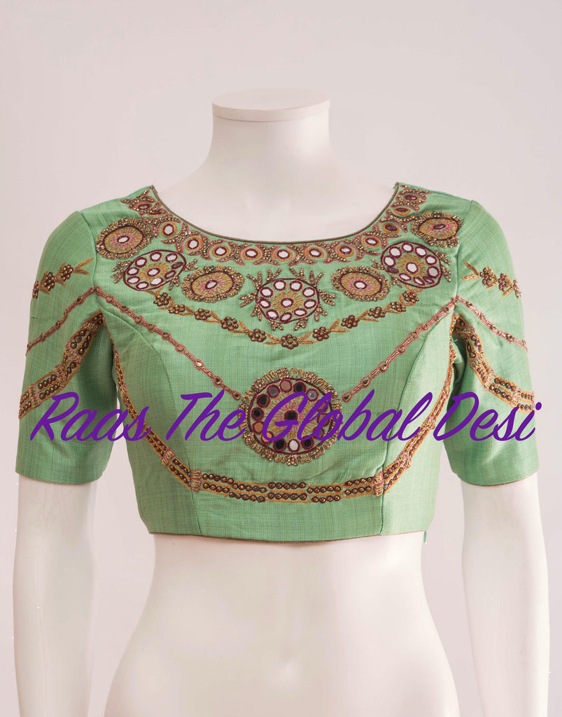 BL1284-BLOUSE-Raas The Global Desi-[readymade_saree_blouse_online_usa]-[readymade_saree_blouse]-[saree_blouse_online]-Raas The Global Desi