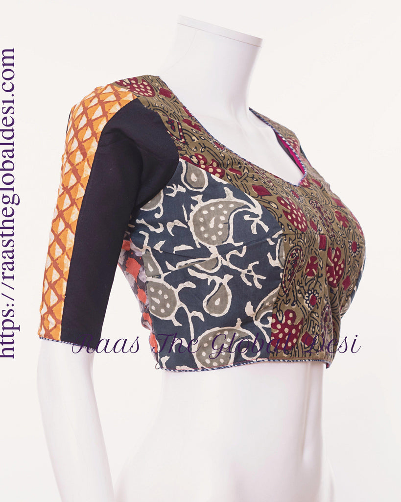 BL1509-BLOUSE-Raas The Global Desi-[readymade_saree_blouse_online_usa]-[readymade_saree_blouse]-[saree_blouse_online]-Raas The Global Desi