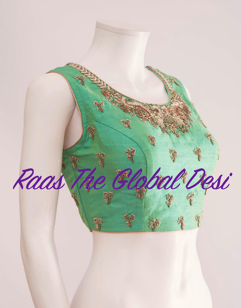 BL1295-BLOUSE-Raas The Global Desi-[readymade_saree_blouse_online_usa]-[readymade_saree_blouse]-[saree_blouse_online]-Raas The Global Desi