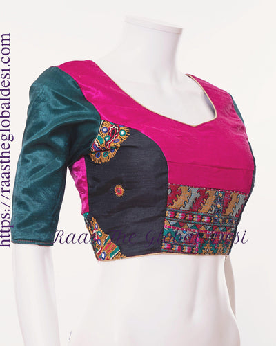 BL1503-BLOUSE-Raas The Global Desi-[readymade_saree_blouse_online_usa]-[readymade_saree_blouse]-[saree_blouse_online]-Raas The Global Desi