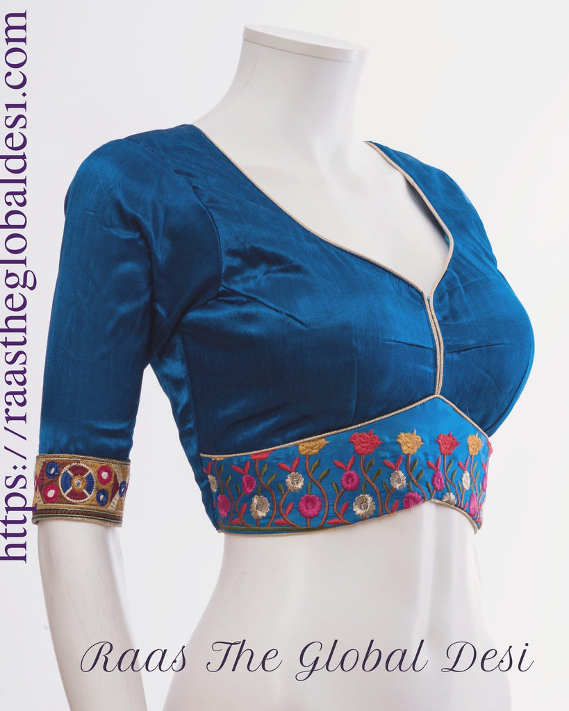 BL1457-BLOUSE-Raas The Global Desi-[readymade_saree_blouse_online_usa]-[readymade_saree_blouse]-[saree_blouse_online]-Raas The Global Desi