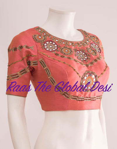 BL1282-BLOUSE-Raas The Global Desi-[readymade_saree_blouse_online_usa]-[readymade_saree_blouse]-[saree_blouse_online]-Raas The Global Desi