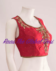 BL1287-BLOUSE-Raas The Global Desi-[readymade_saree_blouse_online_usa]-[readymade_saree_blouse]-[saree_blouse_online]-Raas The Global Desi