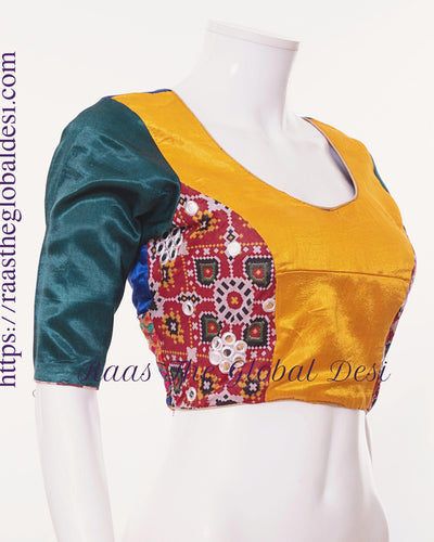 BL1504-BLOUSE-Raas The Global Desi-[readymade_saree_blouse_online_usa]-[readymade_saree_blouse]-[saree_blouse_online]-Raas The Global Desi