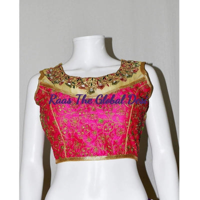 BL1068-BLOUSE-Raas The Global Desi-[readymade_saree_blouse_online_usa]-[readymade_saree_blouse]-[saree_blouse_online]-Raas The Global Desi