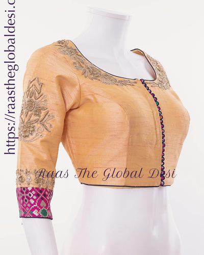 BL1525-BLOUSE-Raas The Global Desi-[readymade_saree_blouse_online_usa]-[readymade_saree_blouse]-[saree_blouse_online]-Raas The Global Desi