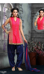 SK1107-PATIALA SALWARKAMEEZ-Salwar kameez and patiyala-Raas The Global Desi-38-Raas The Global Desi