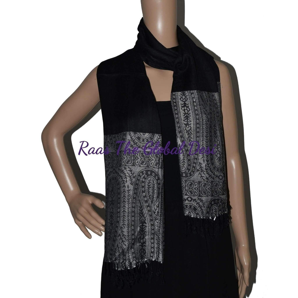 SS1019-scarves & stoles-Raas The Global Desi-[SCARF]-[WRAP]-[STOLE]-Raas The Global Desi