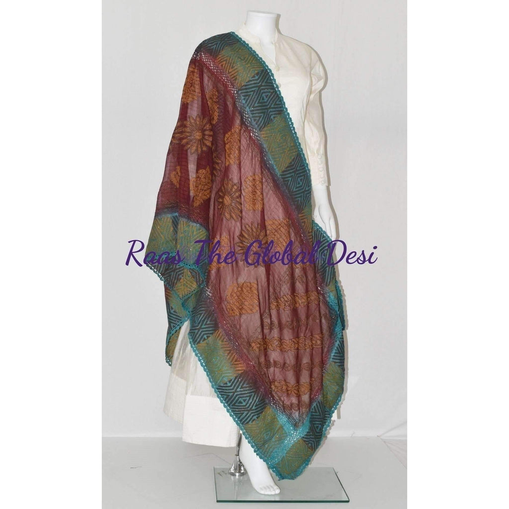 SS1034-scarves & stoles-Raas The Global Desi-[SCARF]-[WRAP]-[STOLE]-Raas The Global Desi