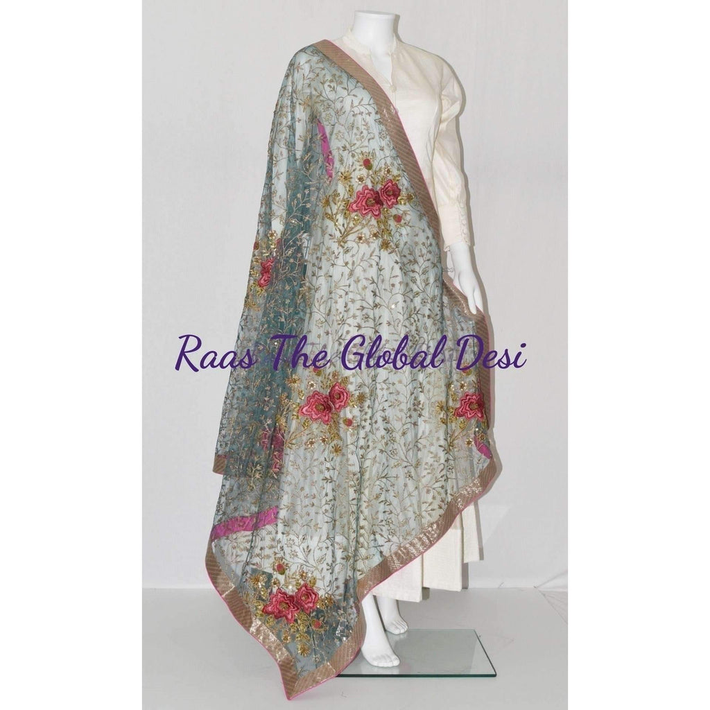 SS1035-scarves & stoles-Raas The Global Desi-[SCARF]-[WRAP]-[STOLE]-Raas The Global Desi