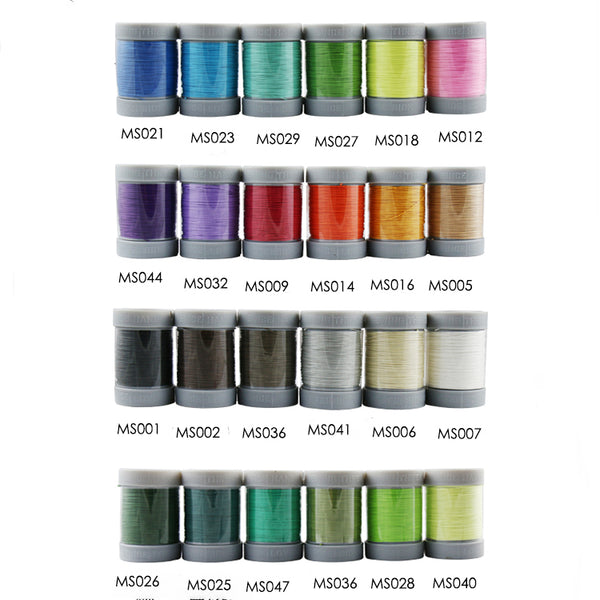 Leather Working Tools Since M50 0.55mm Thread Colorful linen Sewing Spool Cable Leathercraft Leather - LeatherMob