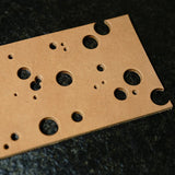 Atelier Amy Roke Round Punch Hole Belt Leather card Board leathercraft leathermob craft tool Screw