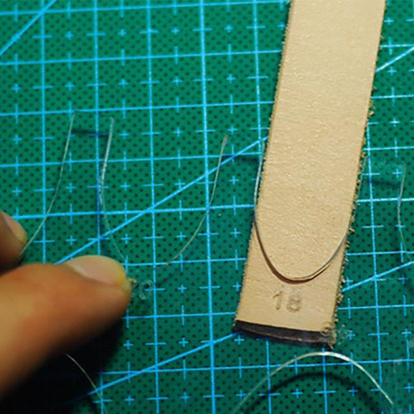 Belt/Bag Strap End Acrylic Template