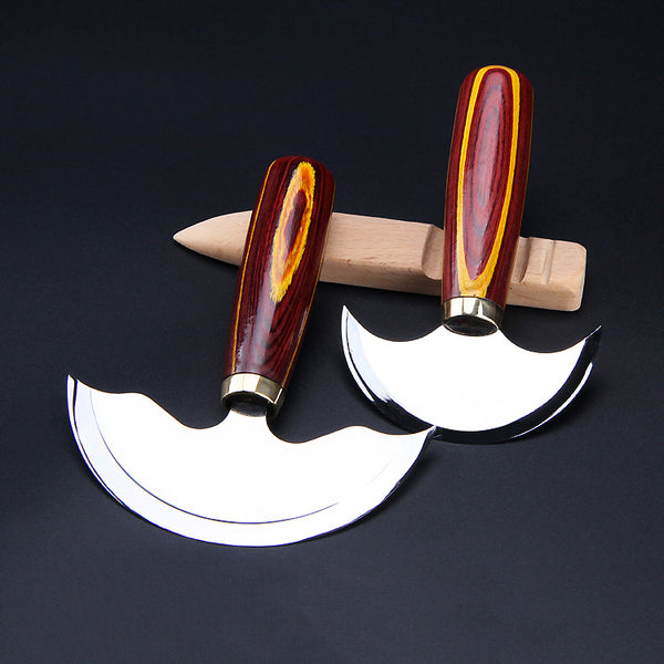 Leather Working Tools Round Knife - LeatherMob