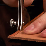 Leather Working Tools Adjustable Since Leather Creaser & Stitch Groover Leather Leathercraft Tools - LeatherMob