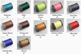 Atelier Amy Roke thread in cotton & Linen 0.35mm(832) Sewing Spool Cable Leathermob leathercraft