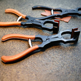 Leathermob Atelier Amy Roke Leather Clamp Pincer Plier Clamping Creasing Edge Stitching leathercraft