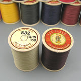 Sajou Fil Au Chinois Waxed Cable Linen Threads Size 832 -50g Spool Cable Linen Cord Corded Waxed Lin