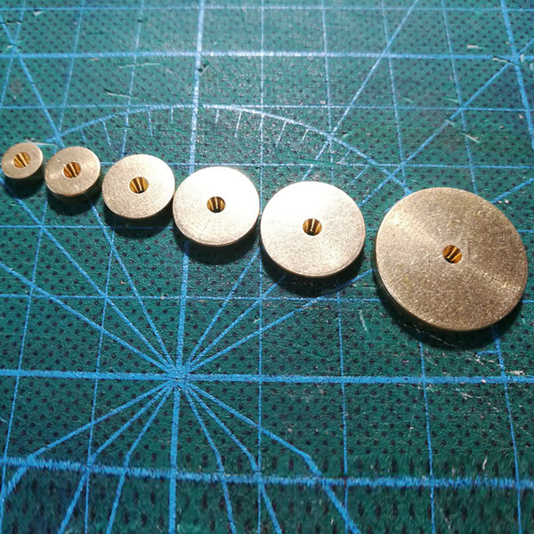 Leather Working Tools Stitching Wheel Leather Circular Margins Cutting Spacer Disc Leathercraft LeatherMob Craft Tool - LeatherMob