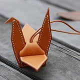 Leather Working Tools Papercrane Keychain Acrylic Template - LeatherMob