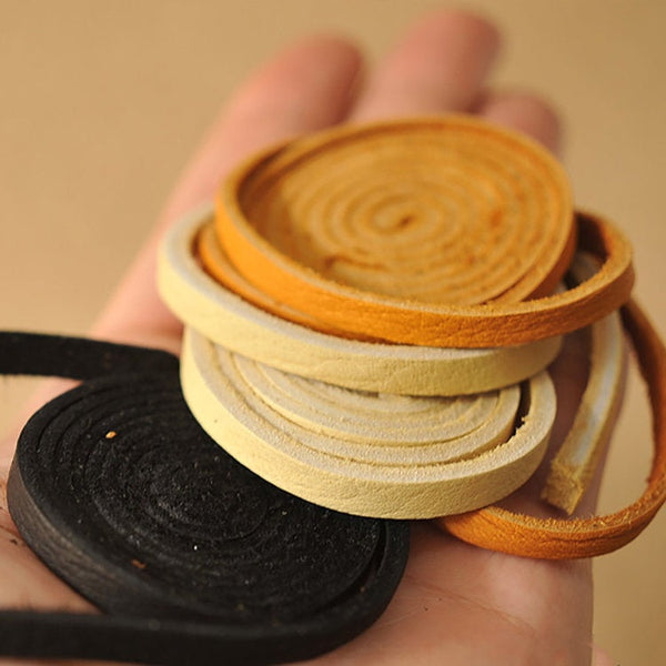 Leather Working Tools Suede Cord 6mm - LeatherMob