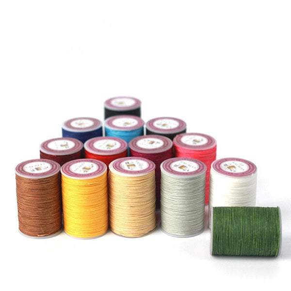 Leather Working Tools Waxed Polyester Thread 0.6mm - LeatherMob