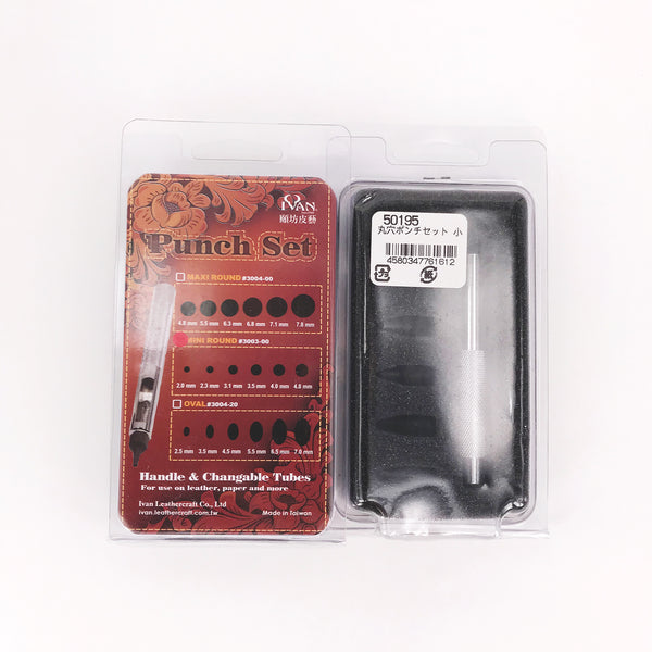 Leather Working Tools Eyelet Punch Set - LeatherMob
