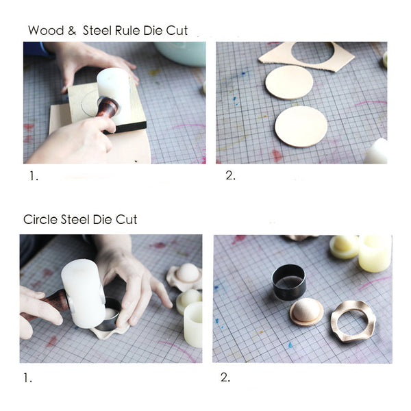 Leather Working Tools Bell Molding Steel Rule Die Cut - LeatherMob