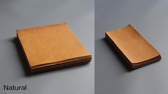 Minerva Box Vegetable Tanned Leather Wallet Purse Italian Genuine Cowhide Walpier Tannery LeatherMob