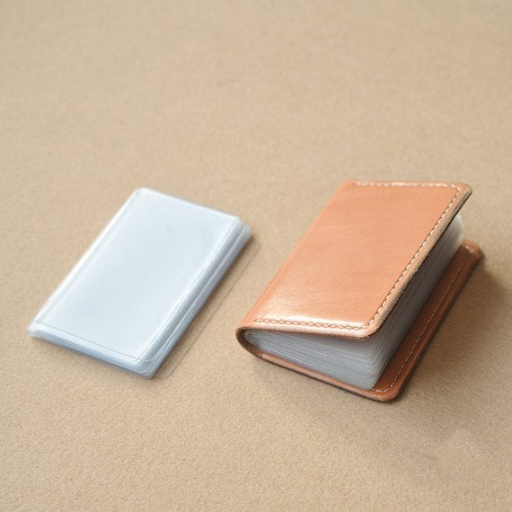 Leather Working Tools Japan Kyoshin Elle Plactic Card Case Business Card Holder Leathercraft - LeatherMob