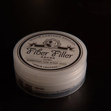 Since Fiber Filler Polish of the edge or Leather Burnishing Gum Leathercraft