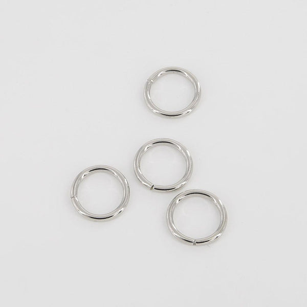 25mm O Rings Wire Loops Purse Handbag Bag Making Hardware Supplies Leathercraft Leather Tool Craft
