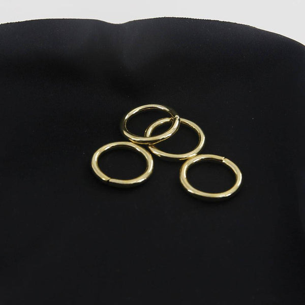 18mm O Rings Wire Loops Purse Handbag Bag Making Hardware Supplies Leathercraft