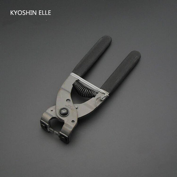 Kyoshin Elle Leather Flat Plier Stitching Pricking Iron Thonging Punch Lacing Chisel Nipper