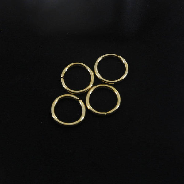 12mm O Rings Wire Loops Purse Handbag Bag Making Hardware Supplies Leathercraft Tool Craft