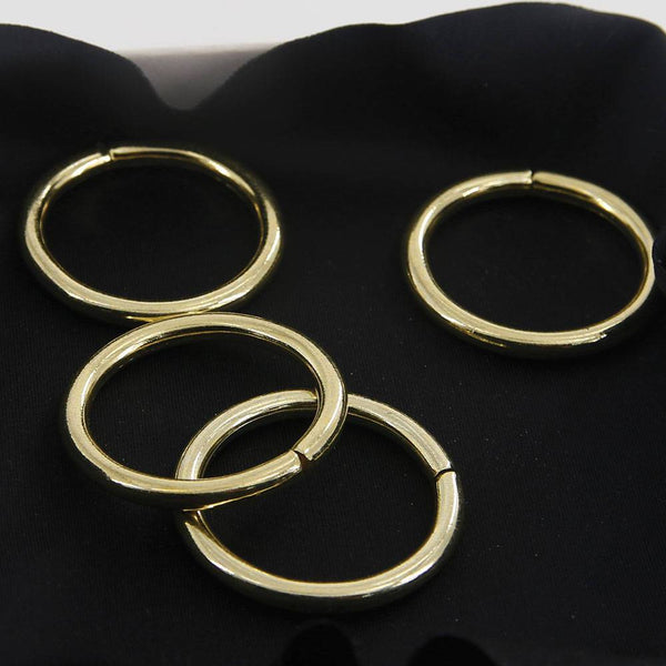 30mm O Rings Wire Loops Purse Handbag Bag Making Hardware Supplies Leathercraft Leather Tool Craft