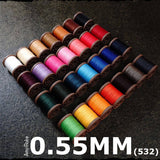 Leather Working Tools Atelier Amy Roke Polyester thread 0.55mm(532) Sewing Cable Linen Leathermob leathercraft Craft Tool - LeatherMob