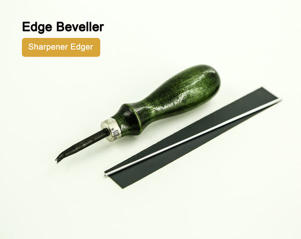Leather Working Tools Deluxe Leather Edge Beveller Sharpener Edger LeatherMob Kyoshin Elle Leathercraft Craft Tool - LeatherMob