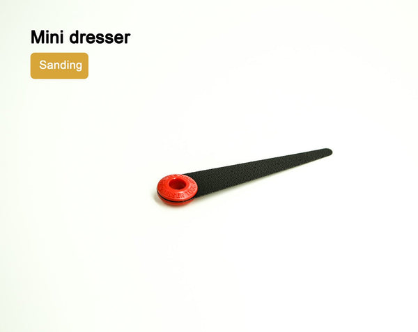NT Mini dresser Sander LeatherMob Leathercraft Craft Tool
