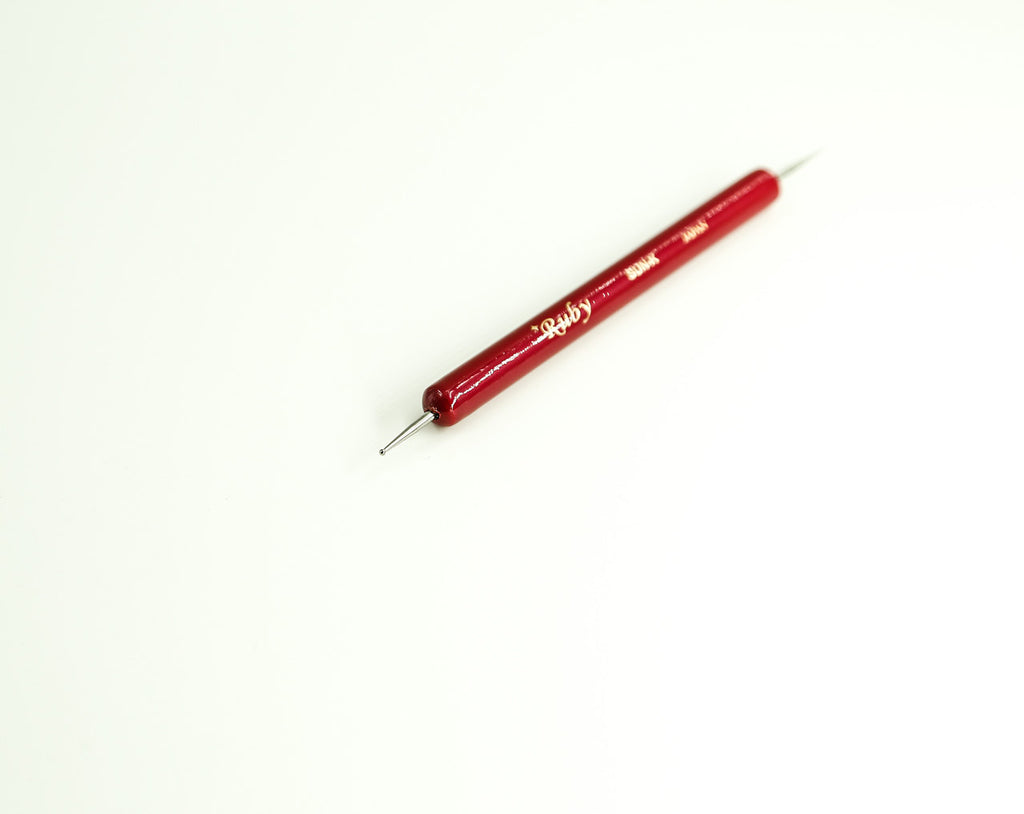 Leather Craft Interchange Tip Dual Stylus Fine/&Ball Point Modelling Carving Tool