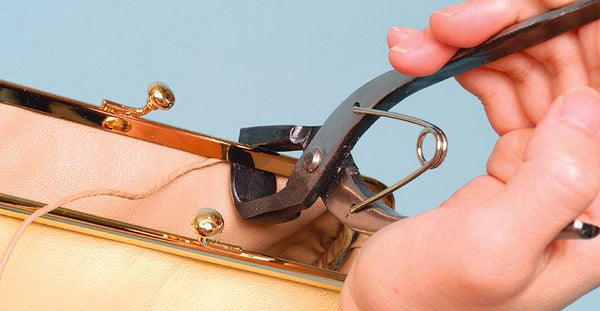 Purse Clasp Folder Tucker & Creaser Pliers LeatherMob Leathercraft Craft Tool