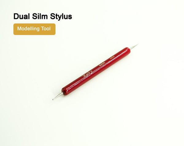 Dual Stylus Fine & Ball Point Leather Modelling Tool LeatherMob Leathercraft Craft Tool