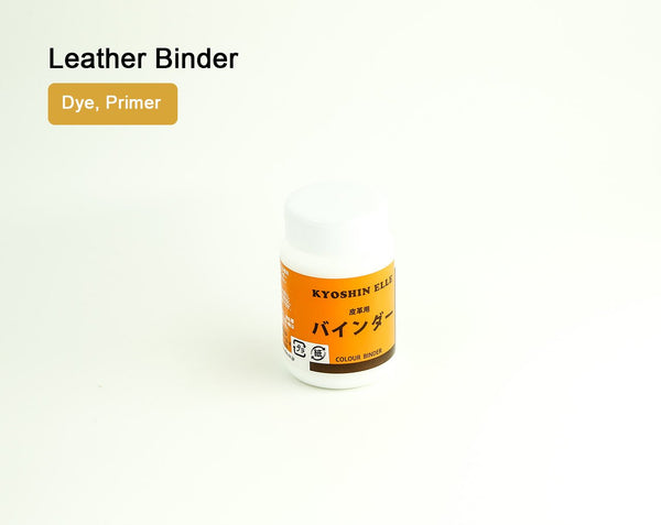 Foundation Binder Dye Fastener & Leather Lacquer Primer 100ml LeatherMob Seiwa Leathercraft