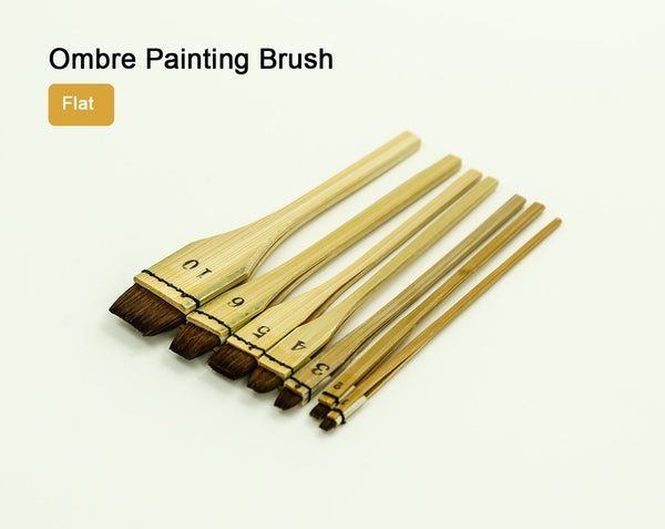 Ombre Painting Brush Flat Dye LeatherMob Leathercraft Leather Craft Tool