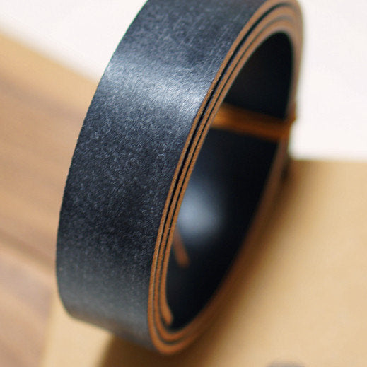 Leather Working Tools J&E Sedgwick Black Bridle Butt Waxed Leather Belt Strap LeatherMob Leathercraft Craft Tool - LeatherMob
